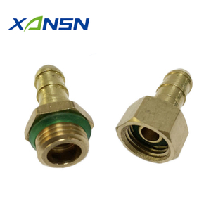 High Pressure Spray Hose Brass Fitting / Connector Supplier